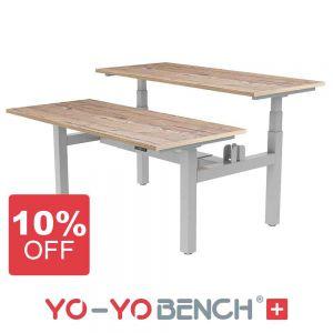 Yo-Yo BENCH+ Electric Standing Desk