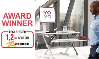Sehr gut! Yo-Yo DESK®_Sehr gut! Yo-Yo DESK® wins top German award