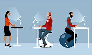 Standing Desks Boost Productivity