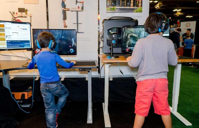 Could Standing Up Be The Secret To Gaming Success?